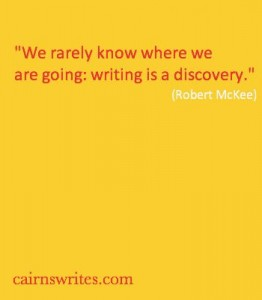 we rarely know where we are going