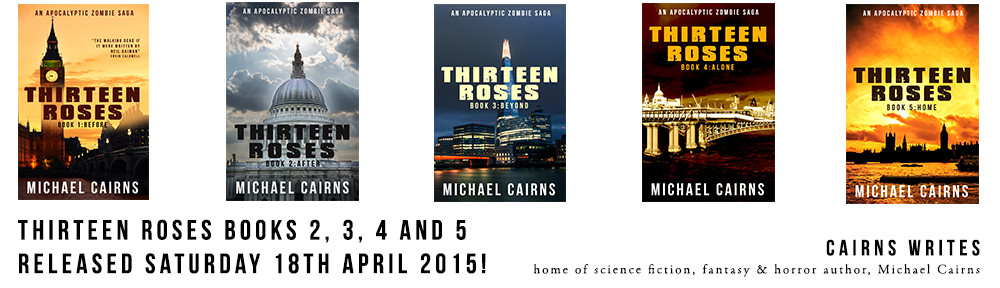 Thirteen Roses books 2-5 release banner